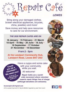 Lewes Repair Cafe Flyer