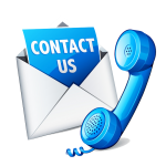 Contact us icon - click to view the contact page
