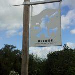 Photo of Glynde Village Sign